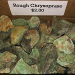 Rough Chrysoprase