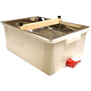 Stainless / Plastic Uncapping Tub Kit